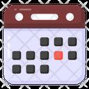 Calendar Reminder Almanac Icon