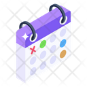 Reminder Event Planner Timetable Icon