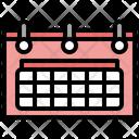 Calendar Date Time Icon