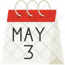 Calendar May World Press Freedom Day Icon