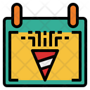 Calendar Carnival Time And Date Icon