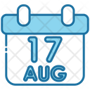 Calendar Independence Day Celebration Icon