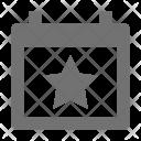 Bookmark date Icon