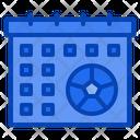 Calendar Football Soccer Match Sports Icon