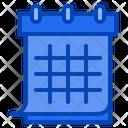 Calendar Schedule Timetable Class Classroom Icon