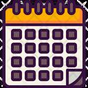 Calendar Event Planning Icon