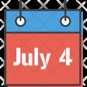 Calendar Date American Icon