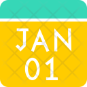 Calendar January New Icon