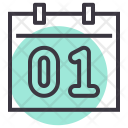 Calendar Day Month Icon