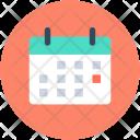 Calendar Wall Date Icon