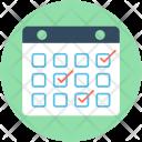 Calendar Wall Schedule Icon