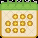 Calendar Schedule Meeting Icon