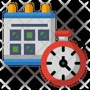 Calendar Time Icon Schedule Icon