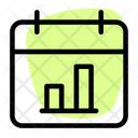 Calendar Bar Chart Icon