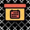 Calendar Blackboard Icon