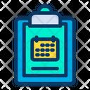 Calendar Clipboard Icon