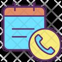 Calendar Contact Icon