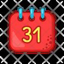 Calendar Party Fun Icon