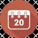 Calendar Deadline Planning Icon