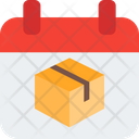 Calendar Delivery Delivery Date Calendar Box Icon