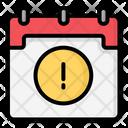 Calendar Error Office Calendar Icon