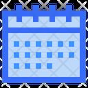 Calendar Daily Calendar Weekly Calendar Icon