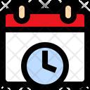 Calendar History Icon