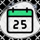 Calendar Holiday Icon