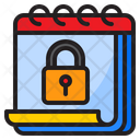 Calendar Lock Day Safe Icon
