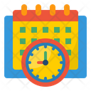 Calendar Management Calendar Watch Icon