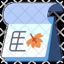 Calendar Maple Icon