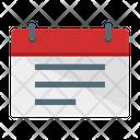 Calendar Notes Icon