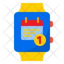 Calendar Notification Smartwatch Date Icon