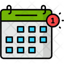 Calendar Notification Calendar Date Icon