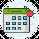 Calendar Notification Icon