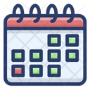 Calendar Schedule Reminder Daybook Icon