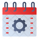 Calendar Setting Icon