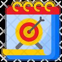 Calendar Target Icon
