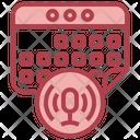 Calendar Voice Assistant Calender Voice Assistant Icon