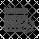Calendar Warning Icon