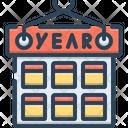 Calendar Year Icon