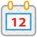 Calendar yearbook Icon