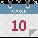 Agenda Calendar Chronology Icon