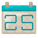 Calender Office Supply Icon