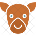 Cow Calf Cattle Icon
