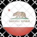 California Us State Icon