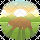 California Bear Animal Icon