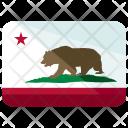 California Republic Flag Icon
