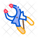 Clamp Worker Tool Icon