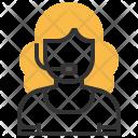 Call Center Avatar Icon